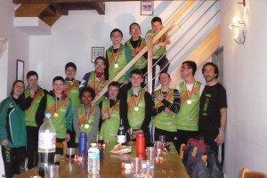 Championnat de France de cross à Epernay  le-groupe-au-gite1-300x200